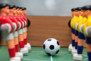 Tafelvoetbal voor alle jeugdleden @ Mortelskoel
